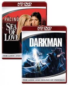 Darkman, Sea of Love [HD DVD Box Art]