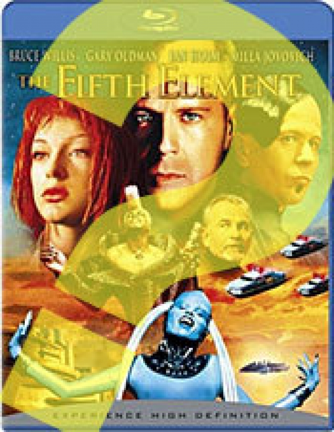 The Fifth Element [Blu-ray Box Art w Question Mark]