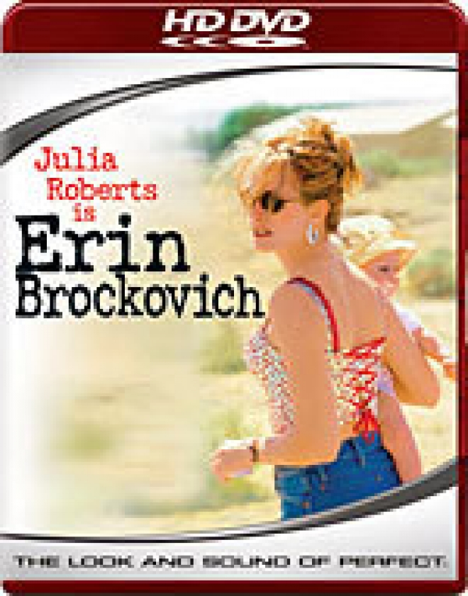 Erin Brockovich [HD DVD Box Art]