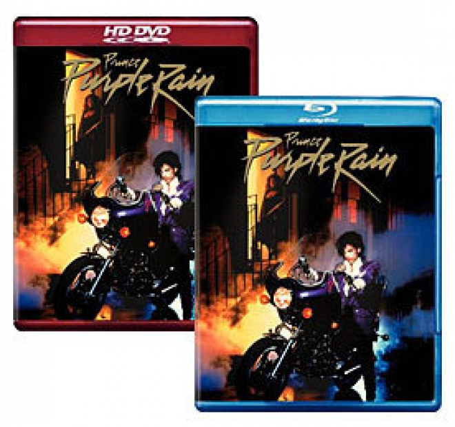 Purple Rain [Blu-ray, HD DVD Box Art]