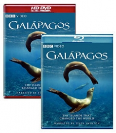 Galapagos [Blu-ray, HD DVD Box Art]