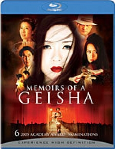 Memoirs of a Geisha [Blu-ray Box Art]
