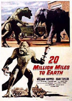20 Million Miles to Earth [Original Movie Poster]