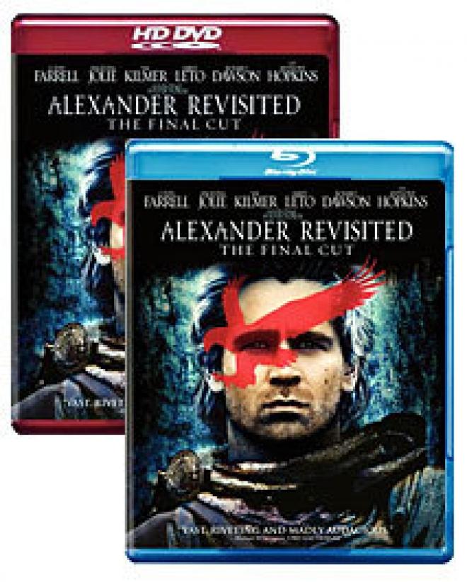 Alexander Revisited: The Final Cut [Blu-ray, HD DVD Box Art]