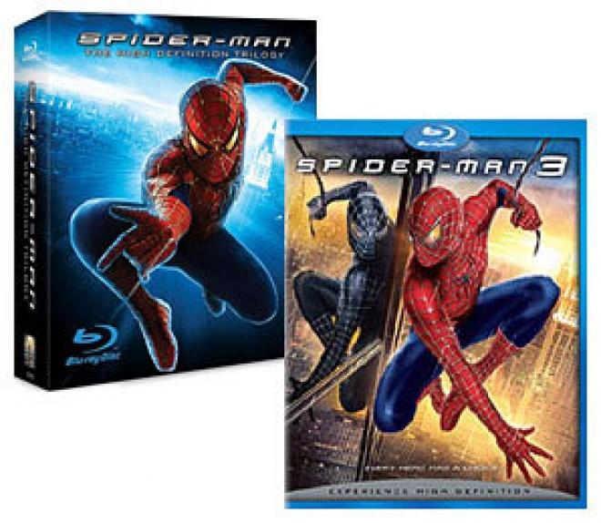 Spider-Man: The High-Defiinition Trilogy, Spider-Man 3 [Blu-ray Box Art]