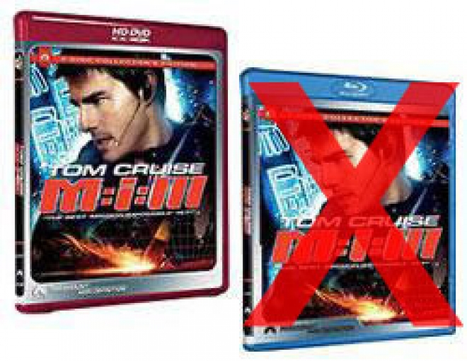 M:i:III [Blu-ray, HD DVD Box Art with X]