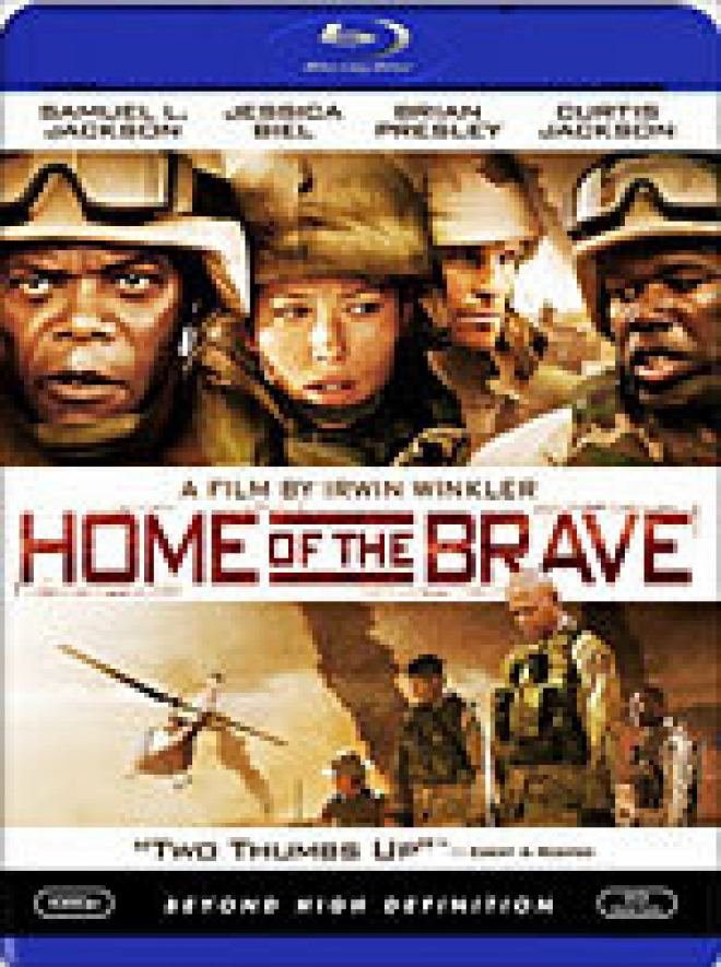 Home of the Brave [Blu-ray Box Art]