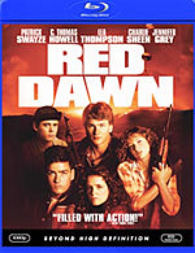 Red Dawn [Blu-ray Box Art]
