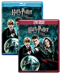 Harry Potter and the Order of the Phoenix [Blu-ray, HD DVD Box Art]