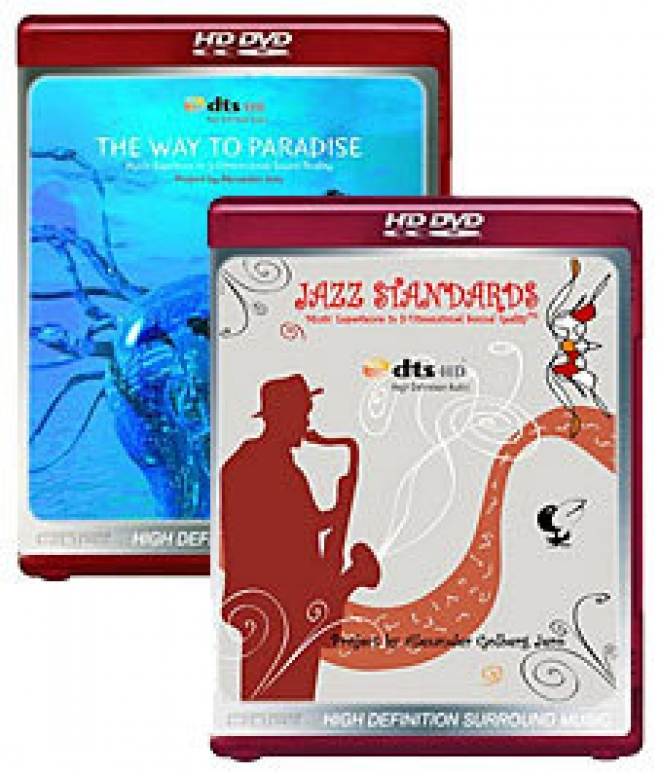Jazz Standards, Way to Paradise [HD DVD Box Art]