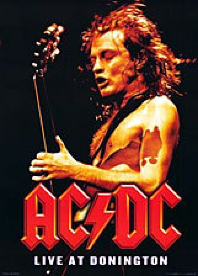 AC/DC Live at Domington [Poster]