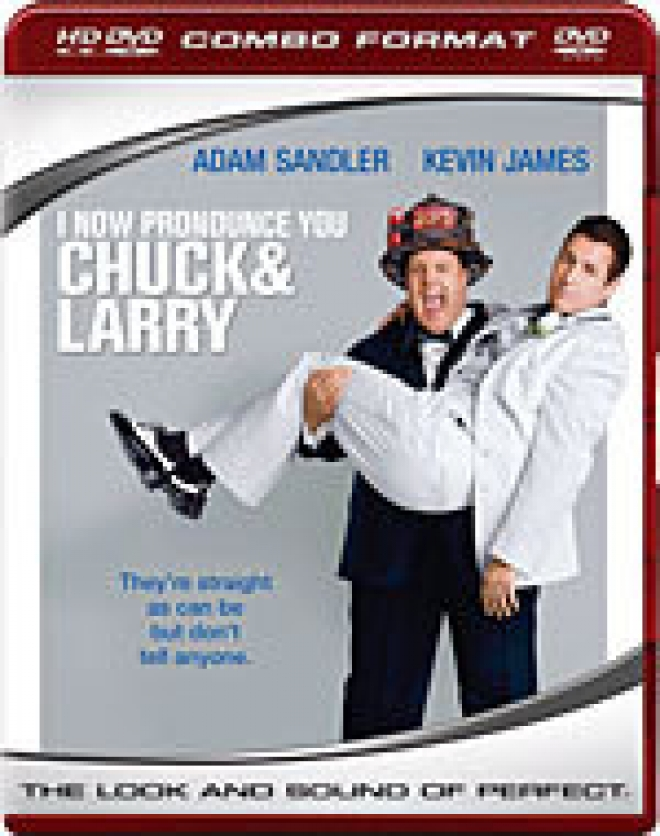 I Now Pronounce You Chuck & Larry [HD DVD/DVD Combo Box Art]