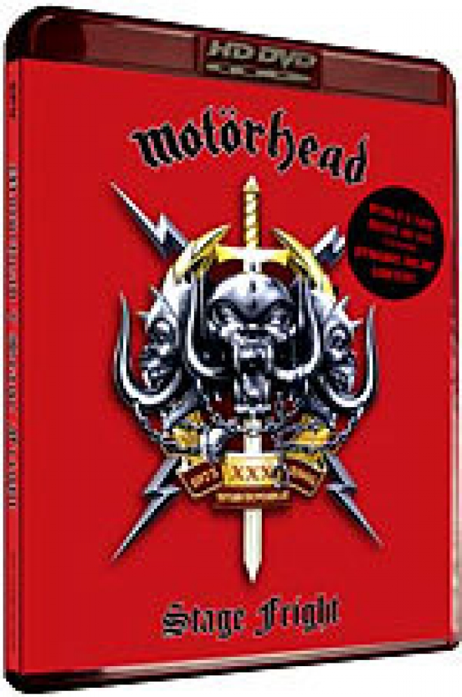 Motorhead: Stage Fright [HD DVD Box Art]
