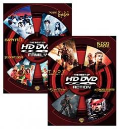 Best of HD DVD Action, Best of HD DVD Family [HD DVD Box Art]