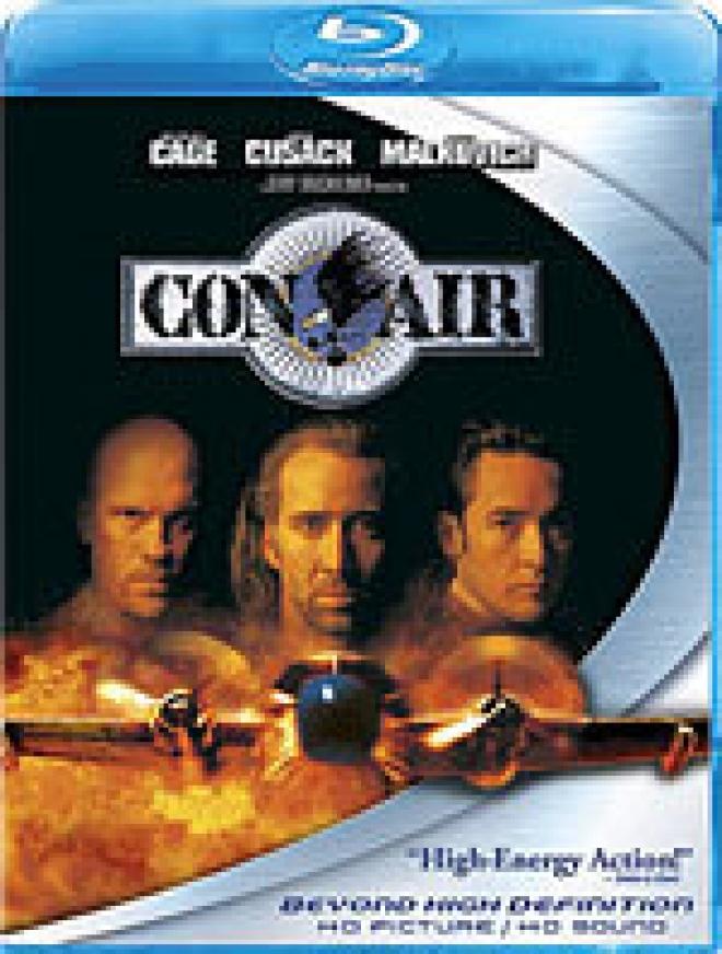 Con Air [Blu-ray Box Art]