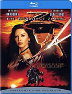 The Legend of Zorro [Blu-ray Box Art]