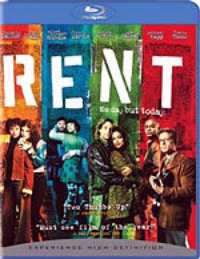 Rent [Blu-ray Box Art]
