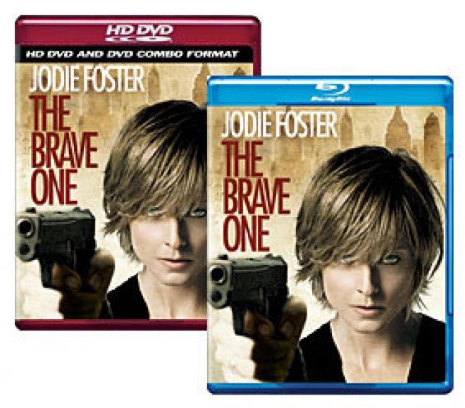 The Brave One [Blu-ray, HD DVD/DVD Combo Box Art]