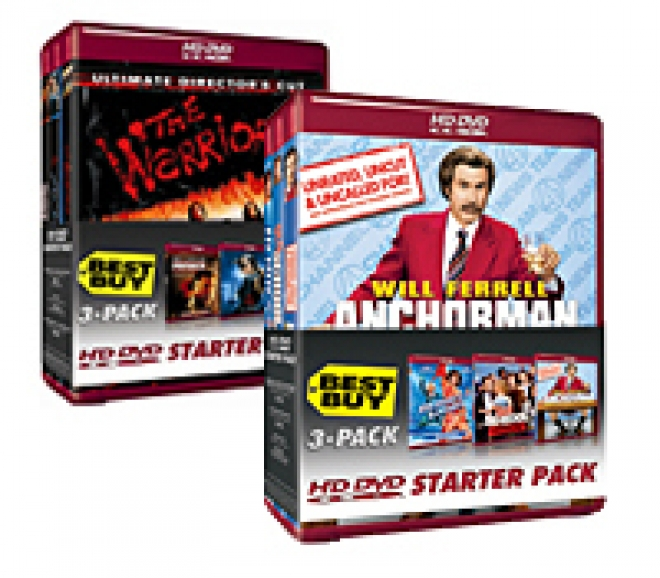 hd dvd starter packs