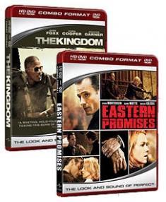 The Kingdom (2007), Eastern Promises [HD DVD Box Art]