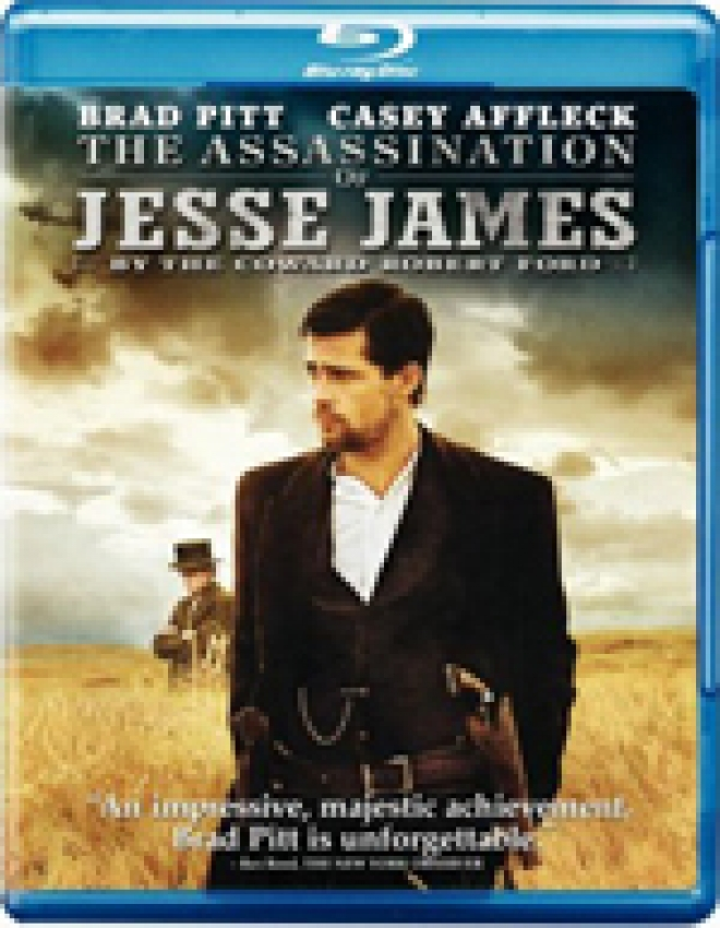 The Assassination of Jesse James by the Coward Robert Ford [Blu-ray Box Art]