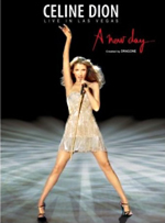 CeliCeline Dion: Live in Las Vegas - A New Day... [Blu-ray Box Art]