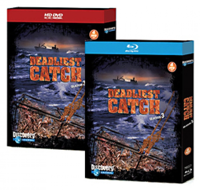 Deadliest Catch: Season 3 [Blu-ray, HD DVD Box Art]