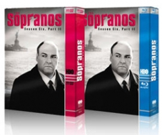 The Sopranos: Season 6, Part One [Blu-ray, HD DVD Box Art]