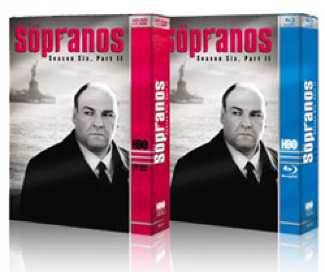 The Sopranos: Season 6, Part One [Blu-ray, HD DVD Box Art]