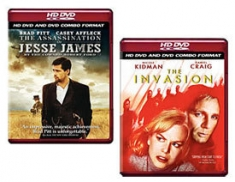 The Invasion, The Assassination of Jesse James by the Coward Robert Ford [HD DVD Box Art]