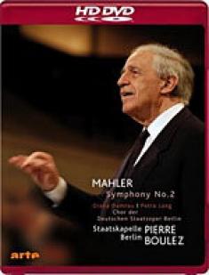 Mahler: Symphony No. 2 Resurrection [HD DVD Box Art[