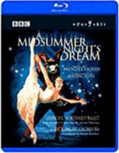 Mendelssohn: A Midsummer Night's Dream [Blu-ray Box Art]
