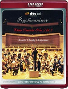 Rachmaninov: Piano Concertos Nos. 2&3 [HD DVD Box Art]