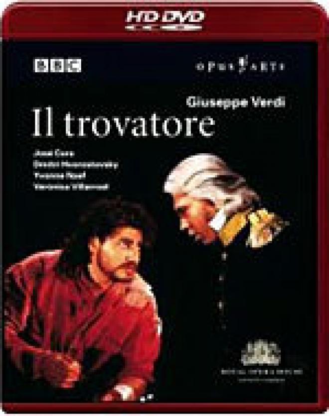 Guiseppe Verdi: Il Trovatore [HD DVD Box Art]
