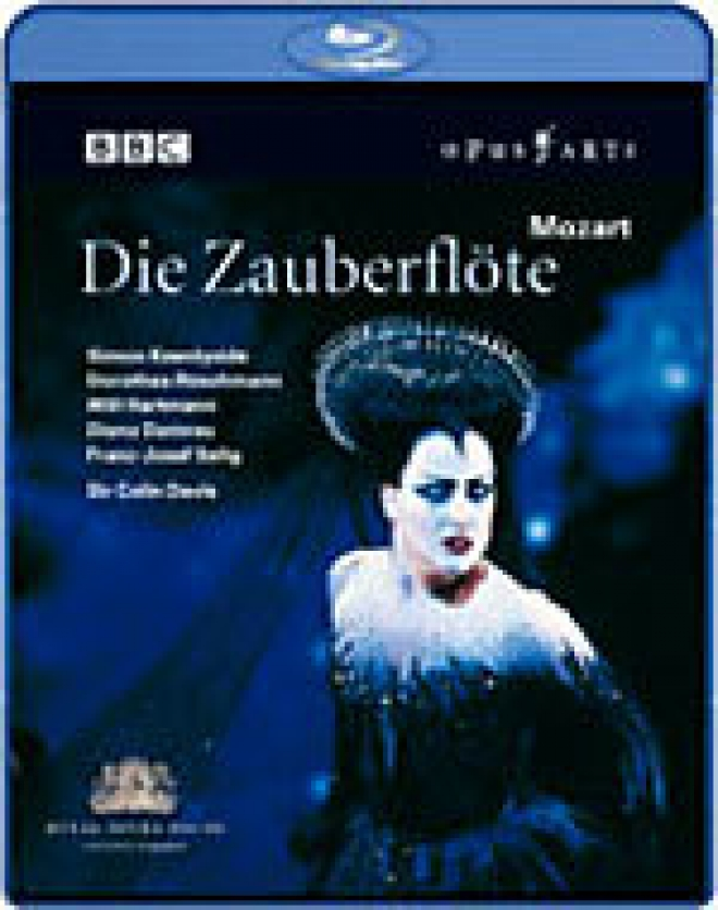 Mozart: Die Zauberflote [Blu-ray Box Art]
