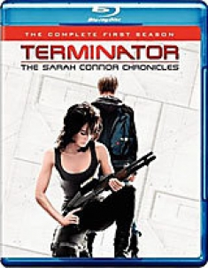 Terminator: The Sarah Connor Chronicles - The Complete First Season [Blu-ray Box Art]