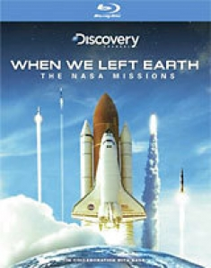 When We Left Earth: The NASA Missions [Blu-ray Box Art]