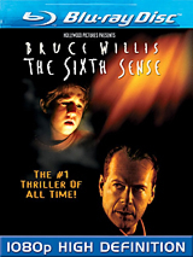 The Sixth Sense [Blu-ray Box Art]