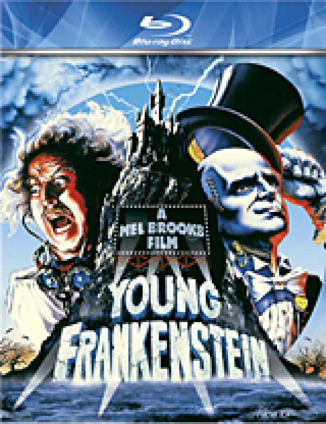 Young Frankenstein [Blu-ray Box Art]