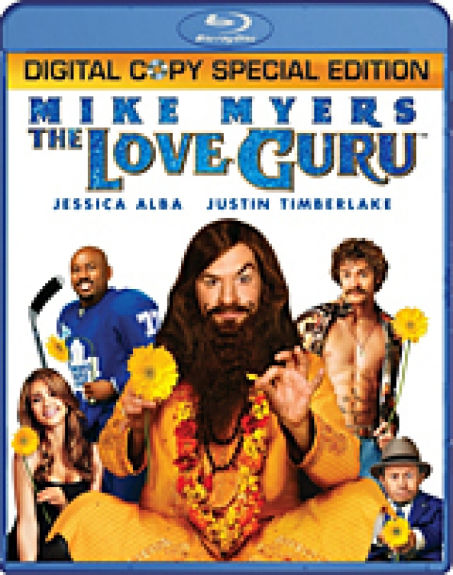 The Love Guru [Blu-ray Box Art]