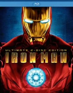 Iron Man (2008) [Blu-ray Box Art]