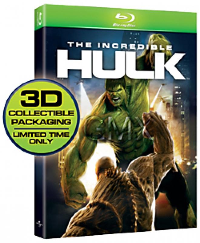 The Incredible Hulk (2008) [Advanced Box Art]