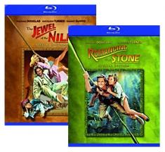 Romancing the Stone, Jewel of the Nile [Blu-ray Box Art]