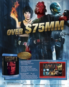 Hellboy II: The Golden Army [Trade Ad]