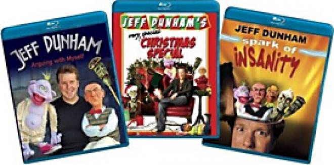 Jeff Dunham 3-Pack [Blu-ray Box Art]