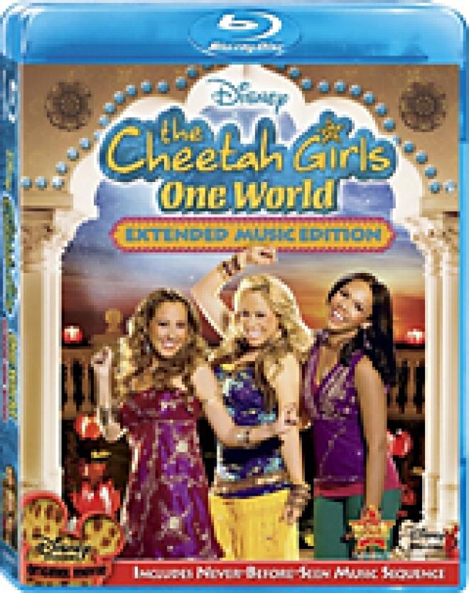 Cheetah Girls [Blu-ray Box Art]