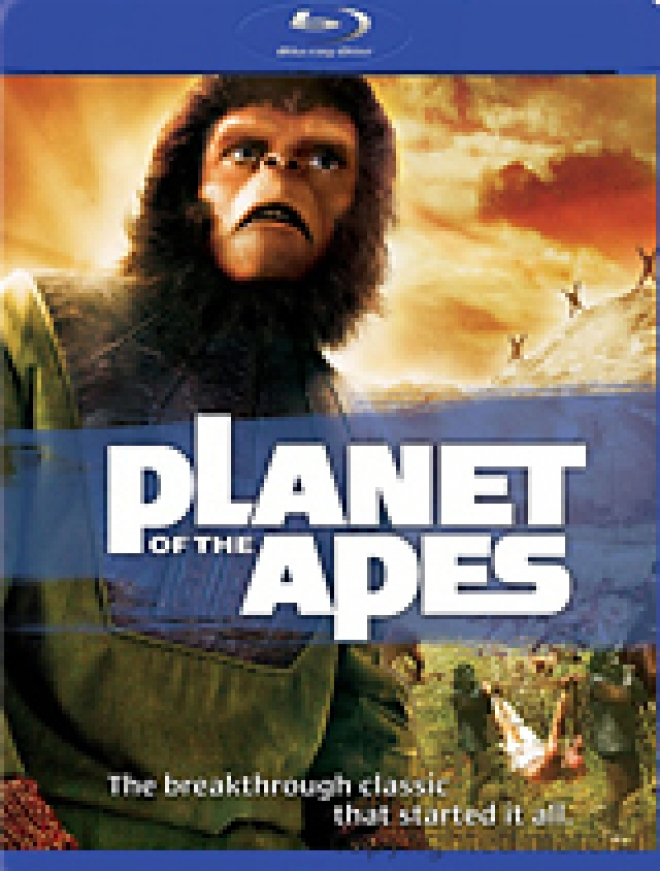 Planet of the Apes (1968) [Blu-ray Box Art]