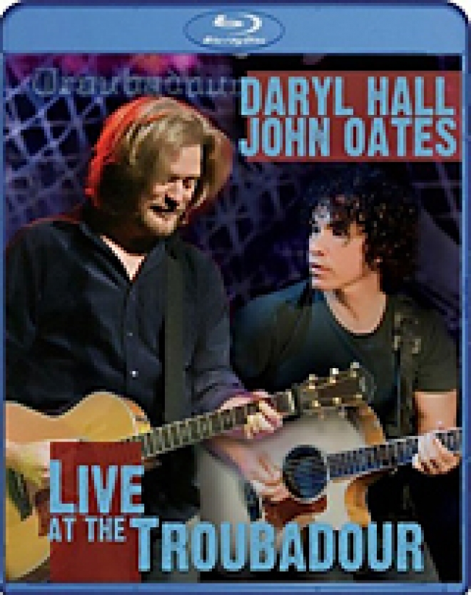 Hall & Oates: Live at the Troubador [Blu-ray Box Art]