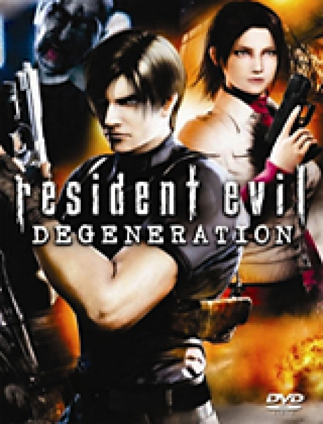 Resident Evil: Degeneration [DVD Box Art]