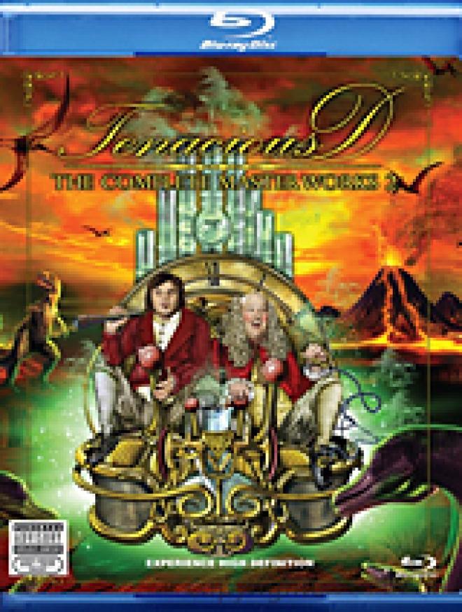 Tenacious D; The Complete Masterworks 2 [Blu-ray Box Art]